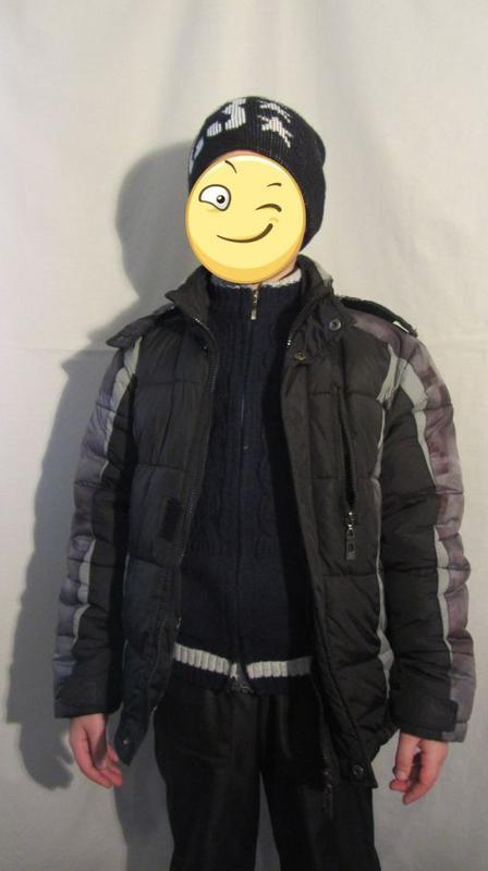 Курточка зимняя на мальчика 7-10 лет - Фото 2