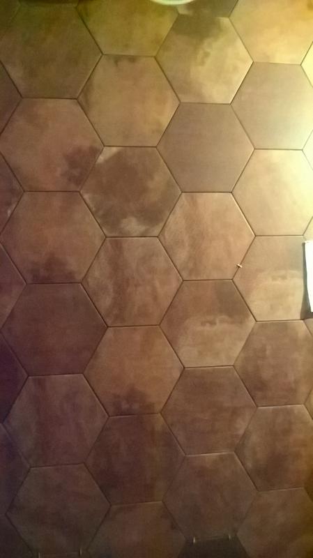 Укладка декоративной плитки(кирпичик) - Фото 4