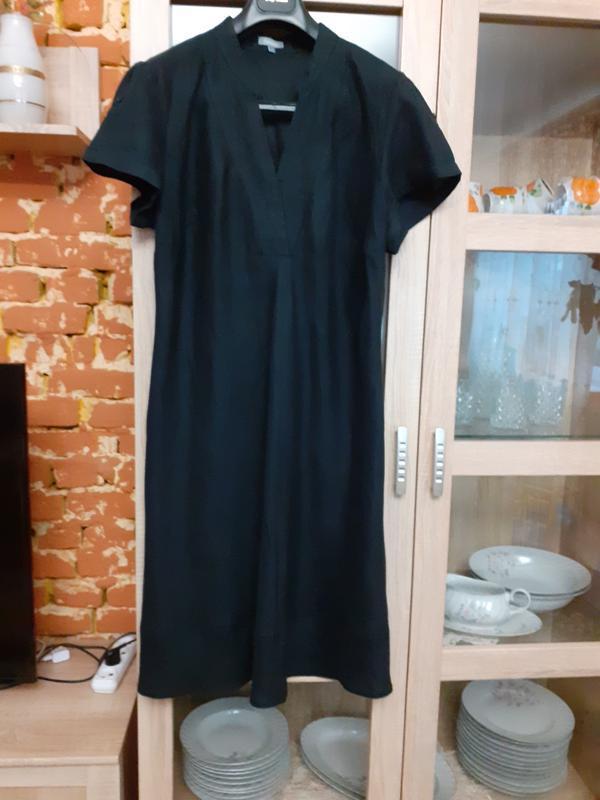Безумно красивое льняное платье большого размера