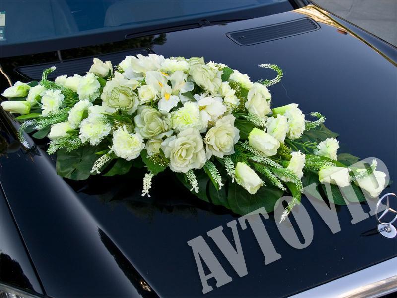 Аренда украшений на свадебную машину для свадьбы - Фото 2