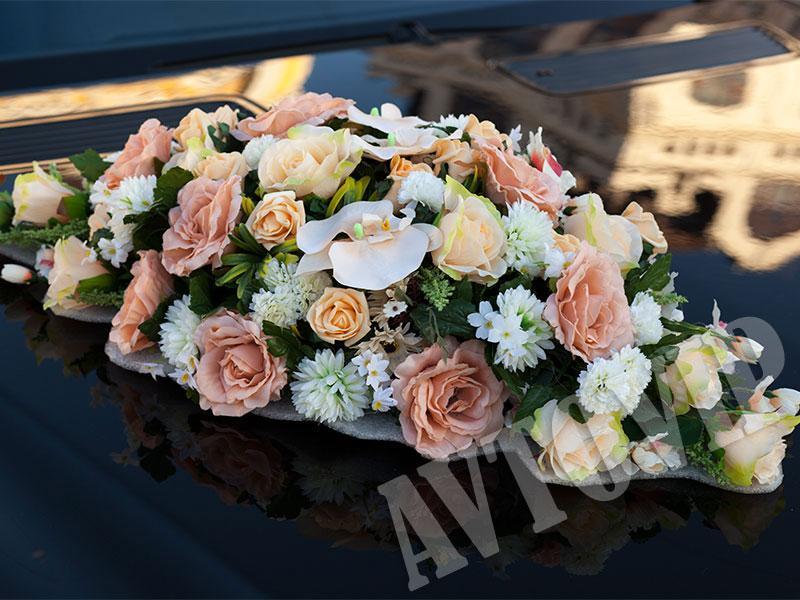 Аренда украшений на свадебную машину для свадьбы - Фото 4