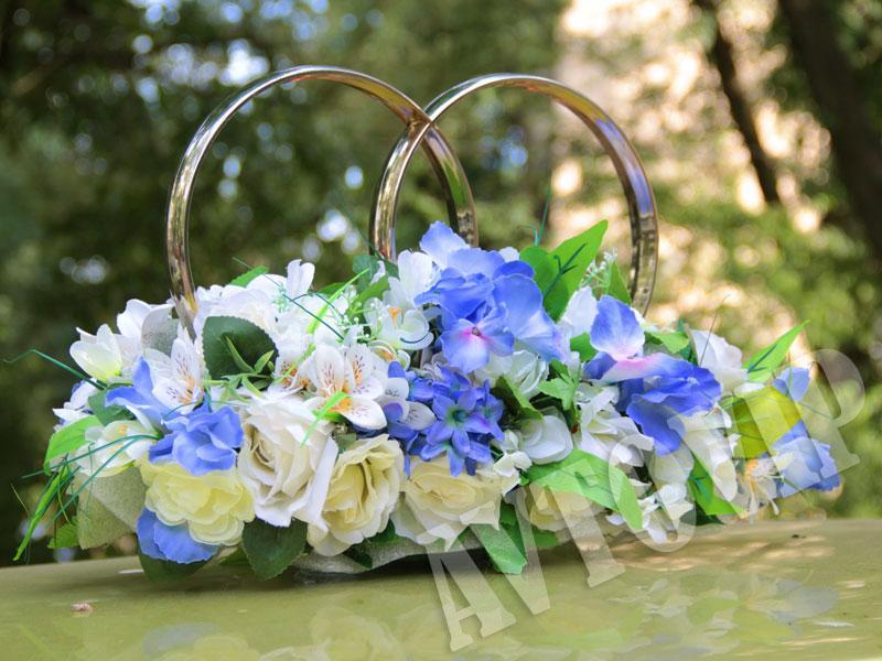 Аренда украшений на свадебную машину для свадьбы - Фото 5