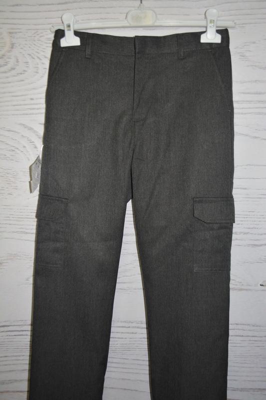 Школьные брюки для мальчика f&f англия размер 10-11 лет