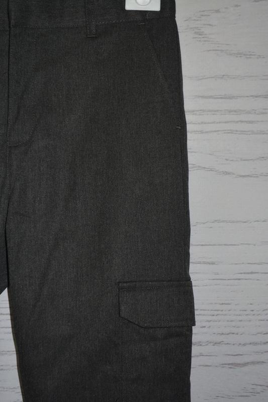 Школьные брюки для мальчика f&f англия размер 10-11 лет - Фото 3
