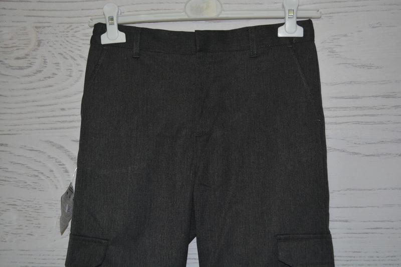 Школьные брюки для мальчика f&f англия размер 10-11 лет - Фото 4