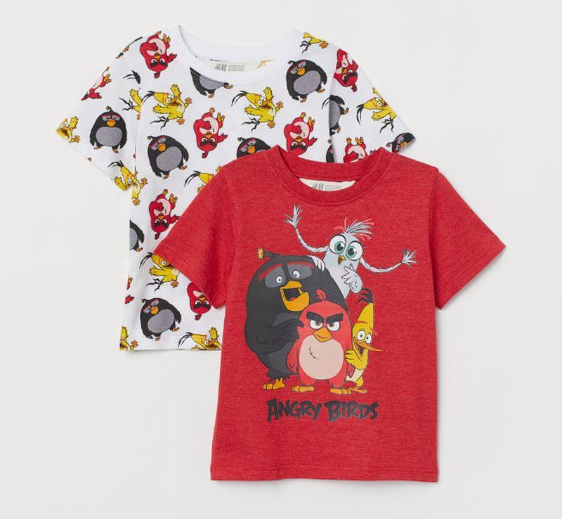 H&m набор футболок для мальчика