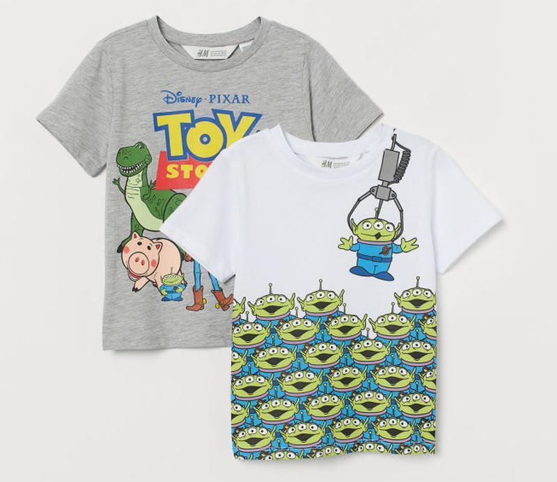 H&m набор футболок для мальчика на 6-8 лет