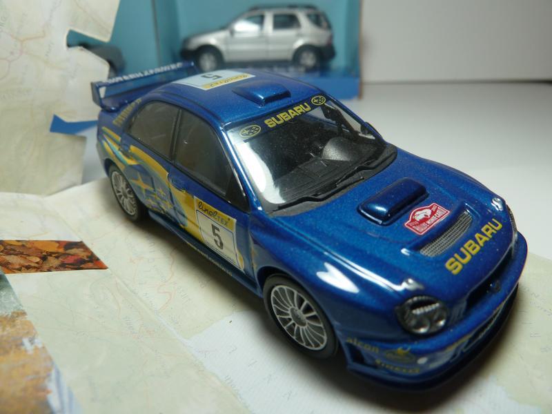 Subaru Impreza Cararama Масштаб 1:43
