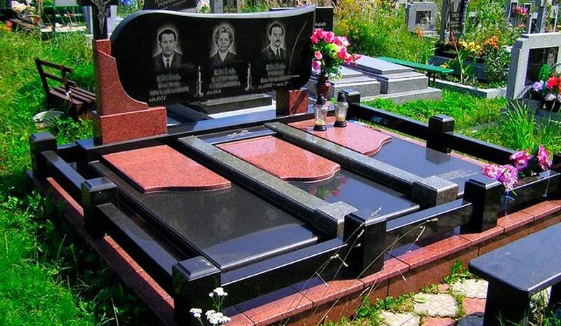Гранитные памятники на могилу. Низкие цены!