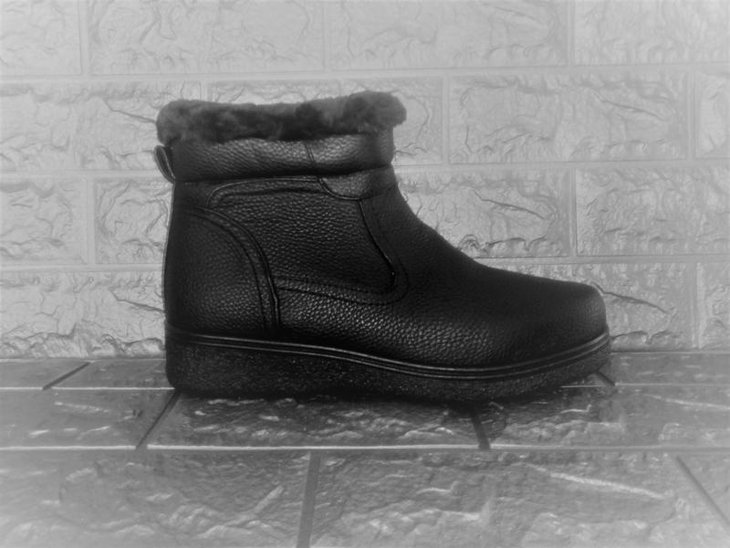 Мужские зимние ботинки стелька=29 см.