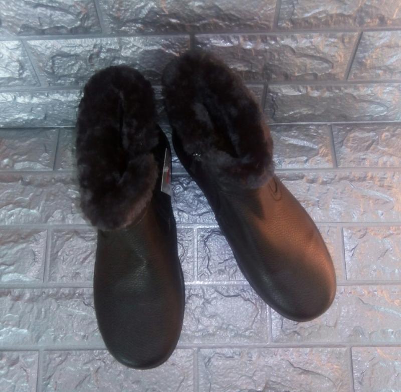 Мужские зимние ботинки стелька=29 см. - Фото 3