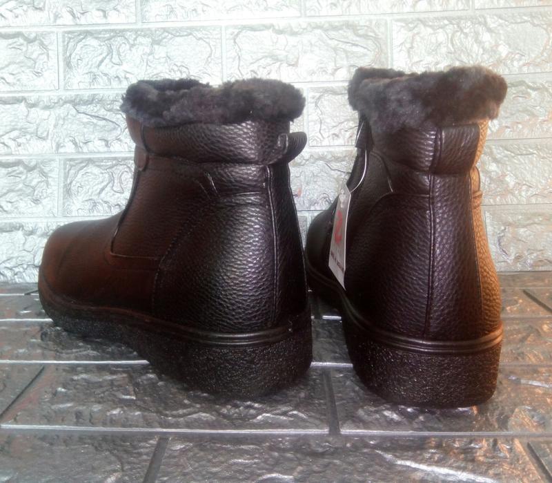 Мужские зимние ботинки стелька=29 см. - Фото 4