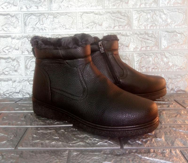 Мужские зимние ботинки стелька=29 см. - Фото 5