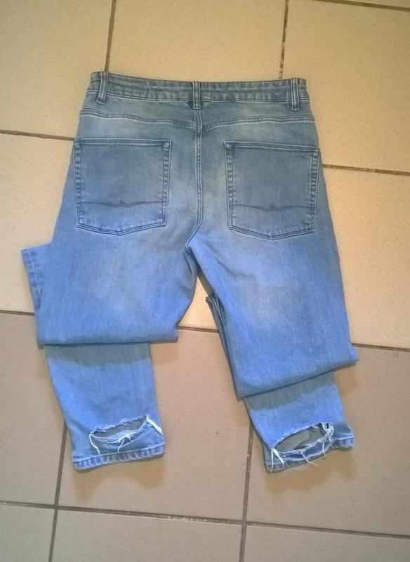 Скидка!!! черная пятница!!! мужские рваные джинсы.