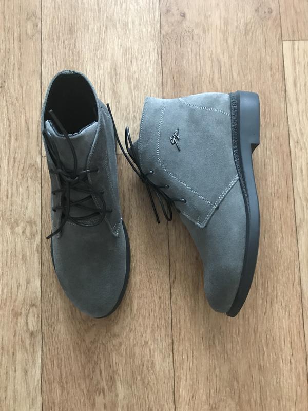 Ботинки замшевые 36-41
