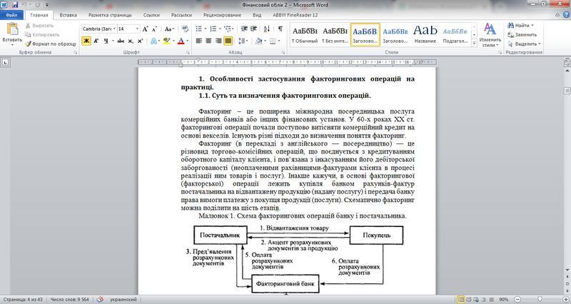 Готові курсові роботи (4 шт.) по спеціальності Облік і Аудит