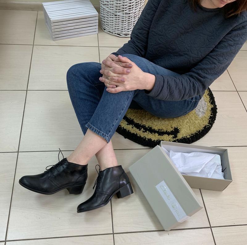 Ботинки clarks оригинал натуральная кожа 36-40