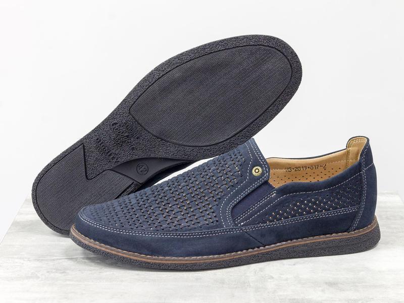 Летние мужские туфли мокасины