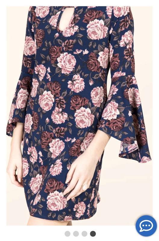 Платье в цветы francesca's - Фото 3