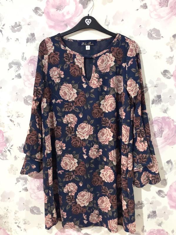 Платье в цветы francesca's - Фото 4
