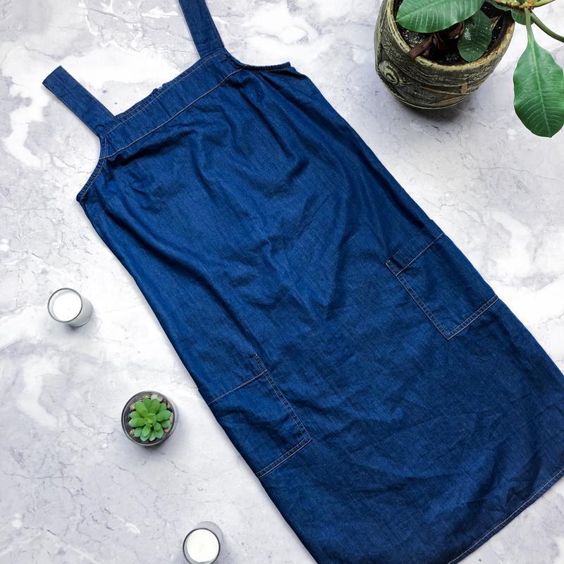 Стильный новый джинсовый сарафан dorothy perkins - Фото 4