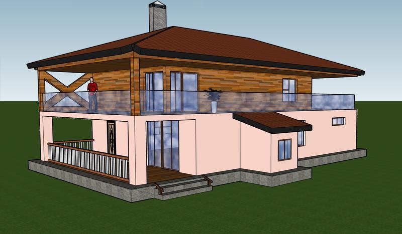 Разработка 3D планов дома, дизайн