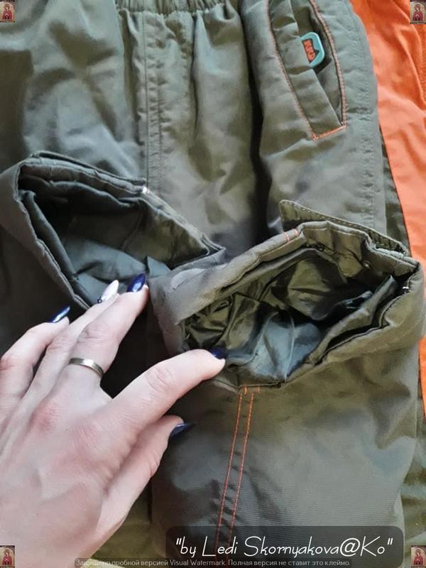 Комбинезон (куртка + штаны) на осень-весну (зима) на мальчика ... - Фото 4