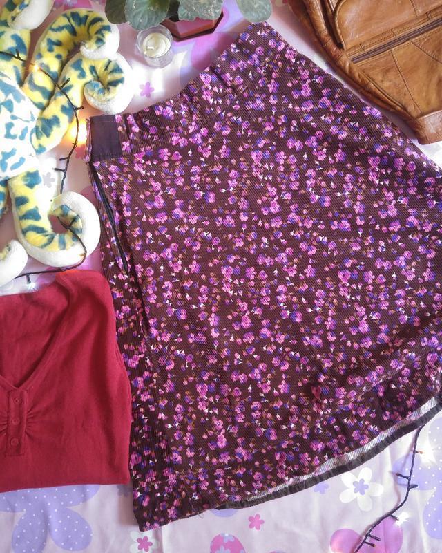Милая юбочка в цветочек 1+1=3