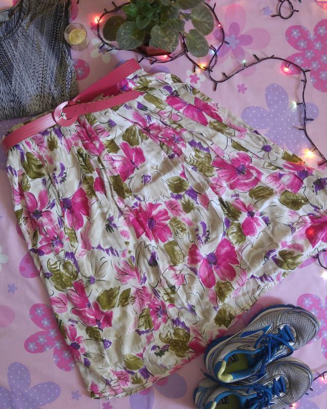 Красивая юбка миди 1+1=3