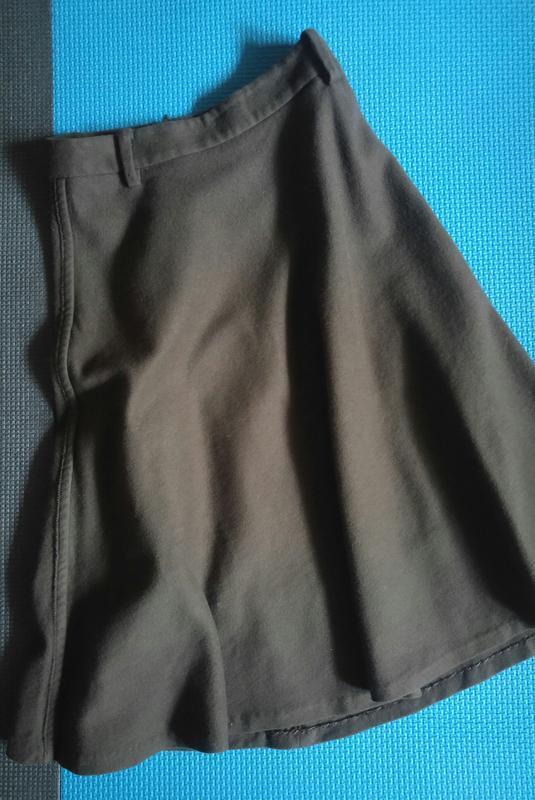 Флисовая юбка миди 1+1=3 - Фото 2