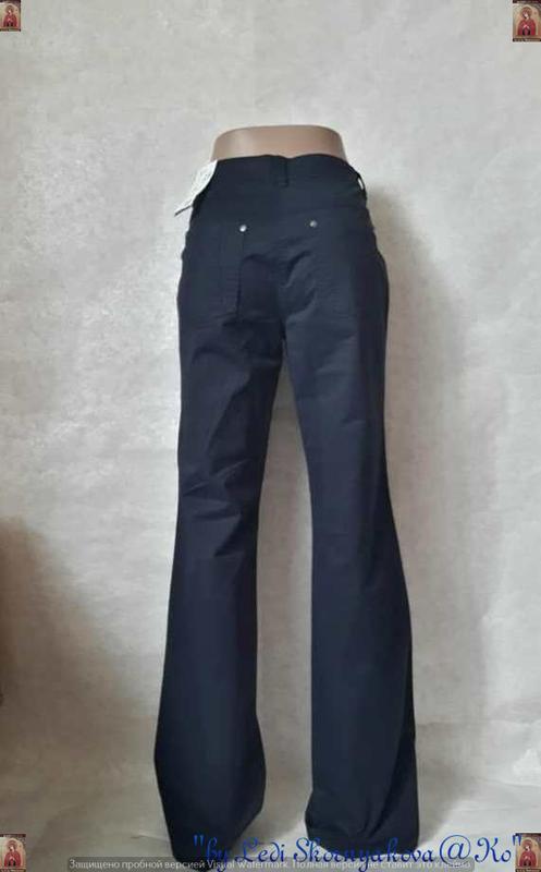 Новые с биркой брюки/штаны/джинсы сдержаного синего цвета, раз... - Фото 2