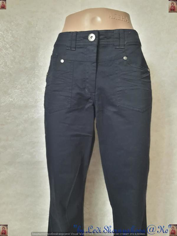 Новые с биркой брюки/штаны/джинсы сдержаного синего цвета, раз... - Фото 6
