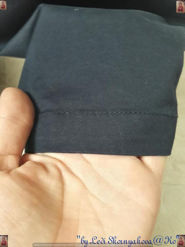 Новые с биркой брюки/штаны/джинсы сдержаного синего цвета, раз... - Фото 7