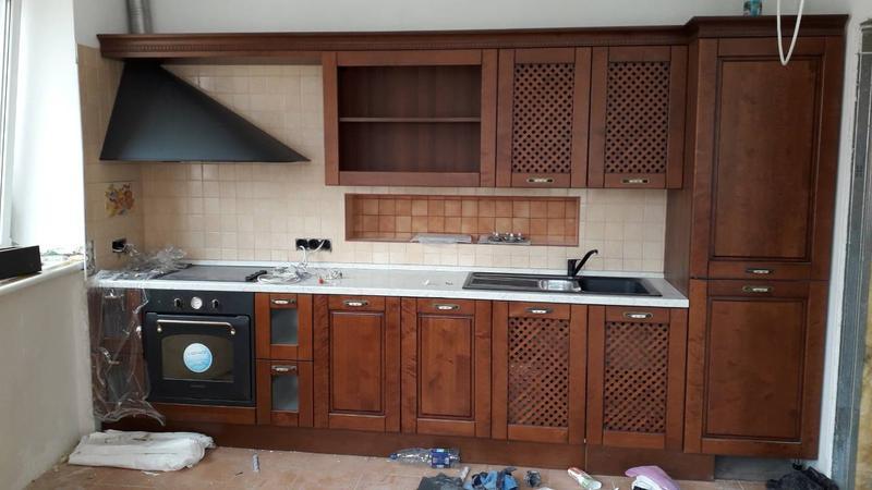 Сборка кухонь
