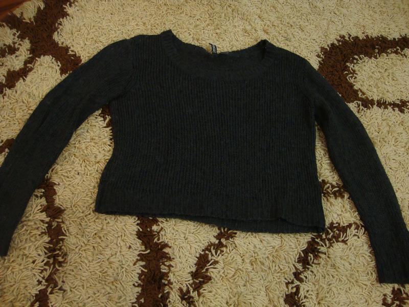 Кофта, свитер оверсайз h&m - Фото 3