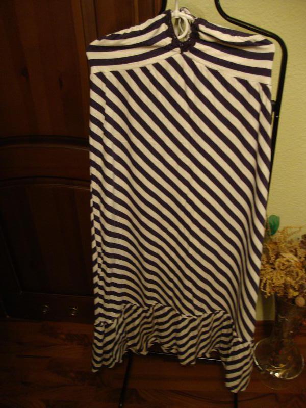Летнее платье - сарафан next, морской стиль, в полоску