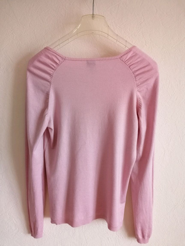 Свитер розовый - Фото 4