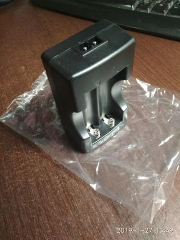 Двухканальное зарядное устройство для аккумуляторов 18650. Obsun. - Фото 2