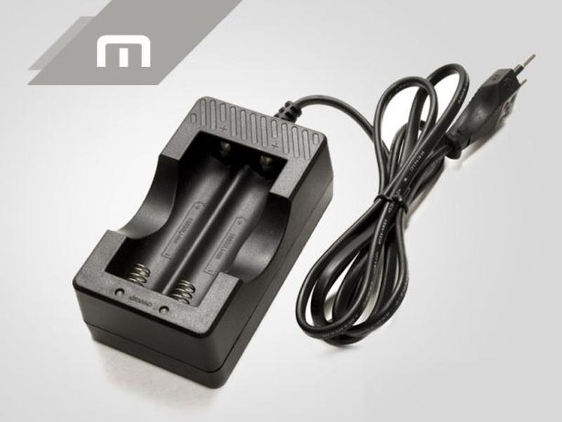 Двухканальное зарядное устройство для аккумуляторов 18650. Obsun. - Фото 3