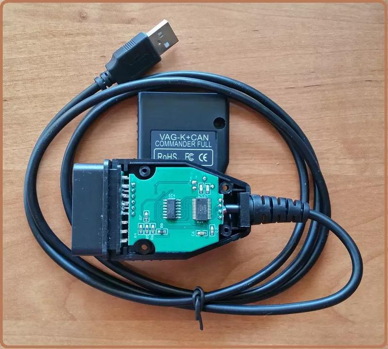 Диагностика VAG K+CAN Commander 1.4 (Одометр) OBD2 чип PIC18F258 - Фото 6