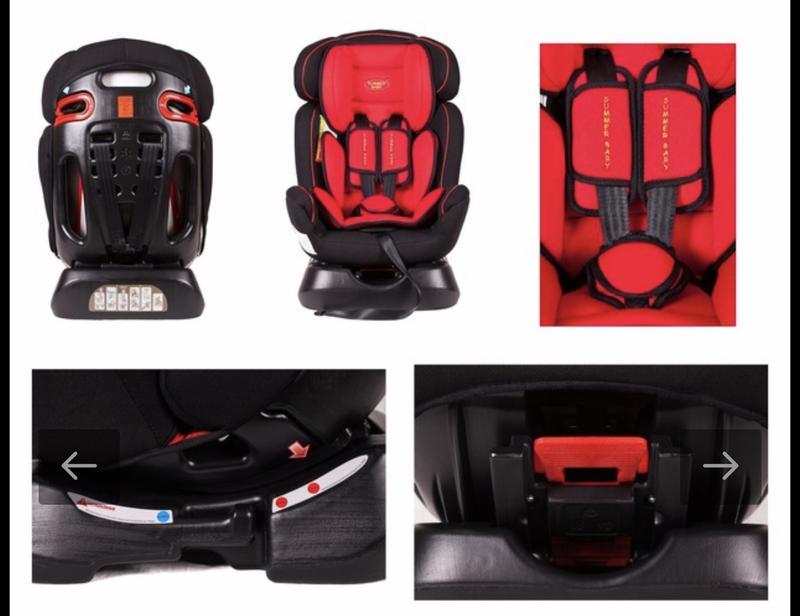 Детское автокресло Summer Baby Comfort 0-25 кг - Фото 8