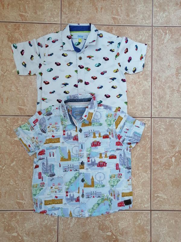 Стильный набор: модная красивая рубашка нарядная летняя рубашечка