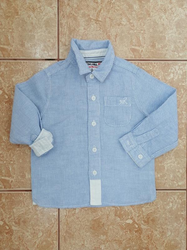 Стильная красивая рубашка нарядная рубашечка