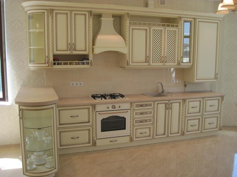 Изготовлю деревянную кухню  по вашим размерам