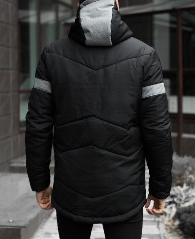 Мужская теплая зимняя куртка - Фото 2