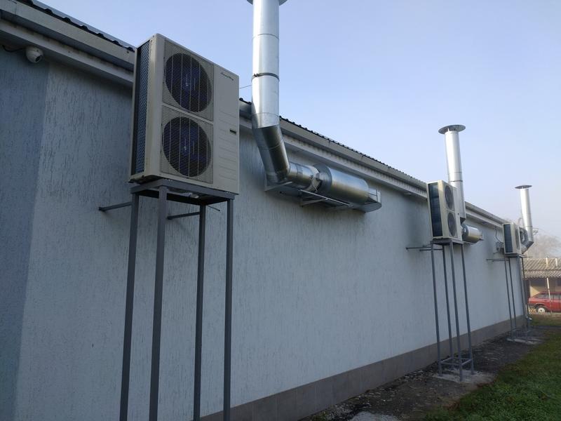 Монтаж кондиционеров и вентиляции