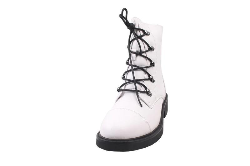 Ботинки на цигейке berkonty натуральная кожа, зима 2020