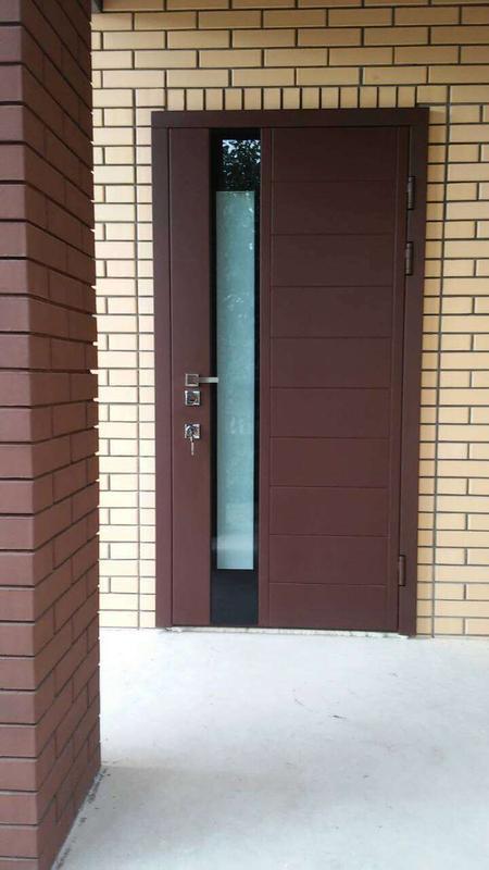 Ремонт входных металлических дверей.