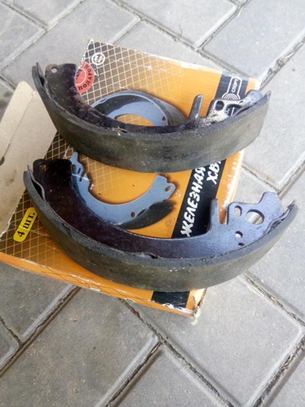 Колодки барабанного тормоза