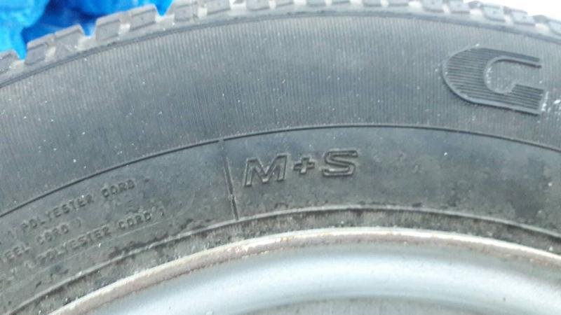 Всесезонные шины M+S  GOODYEAR DEBICA   Б/у R14 175/70 - Фото 3
